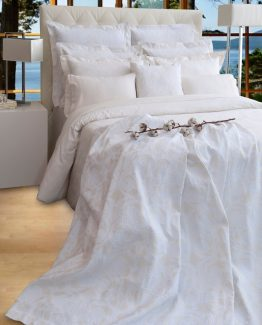 Bedspread and Shams Orchidea I - PortugalHome by AMR Home Textiles