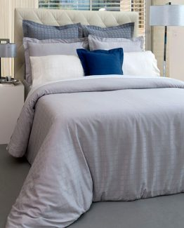 Duvet Cover and Oxford Pillowcases Affinity - MIA ZARROCCO by AMR Home Textiles